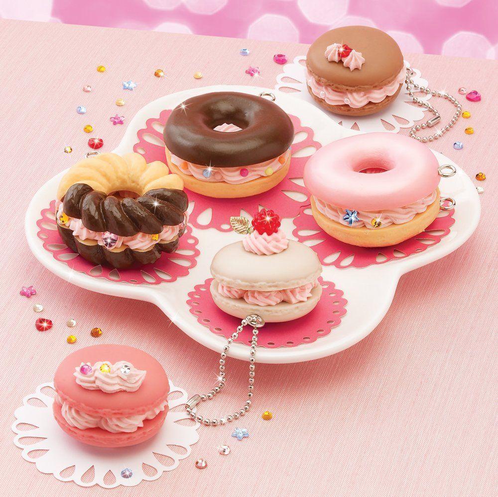 D.I.Y Deco Doughnut key chains
