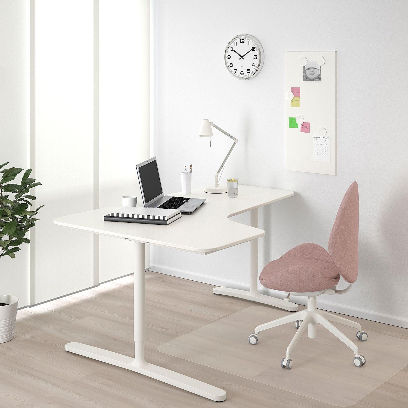 Bekant Corner Desk Left White Ikea In 2020 Ikea Bekant Corner Desk Diy Corner Desk
