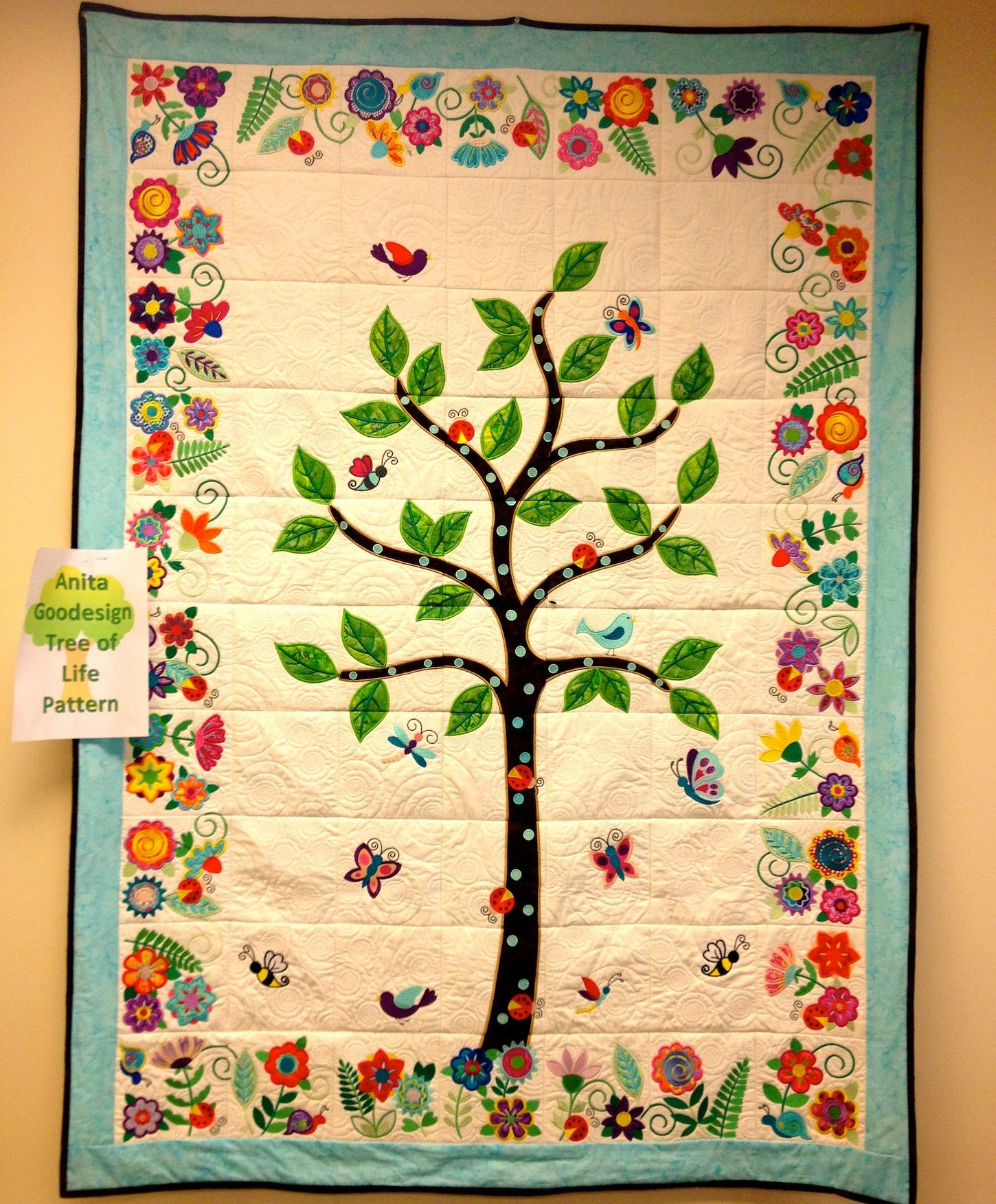 Check out the quilt we made from the Anita Good Designs Tree of ... : quilt life - Adamdwight.com