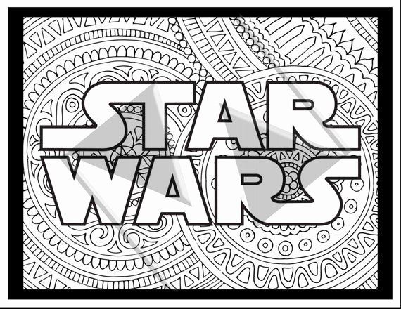 Star Wars Adult Coloring Book Unique Sale Star Wars Coloring Pages
