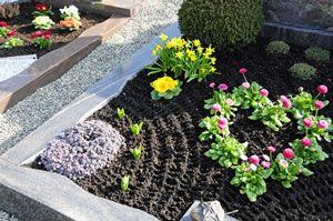 Grabgestaltung | Grabbepflanzung | Pinterest Grabgestaltung Ideen Blumen Pflanzen Deko
