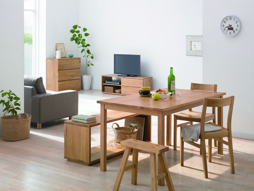 salon bois clair inspi d co pinterest salon bois et manger. Black Bedroom Furniture Sets. Home Design Ideas