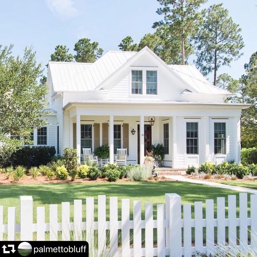 Allison Ramsey Architects On Instagram Check Out Our Jekyll House Plan Repost Palmettobluff A Darling Escap Ramsey House Beach House Plans Eden House