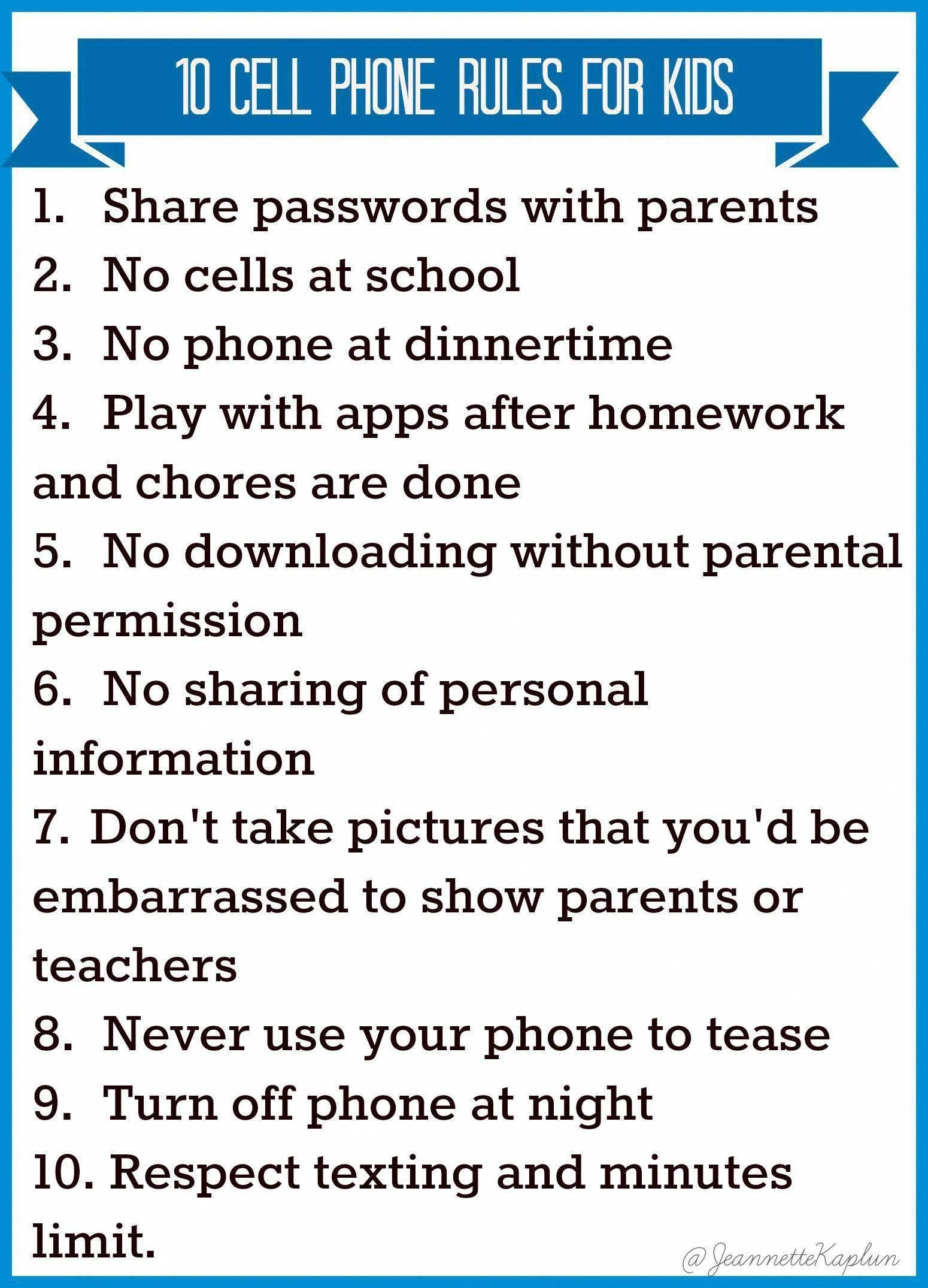 Thinking Of Handing Your Kid A Cell Phone Check Out These