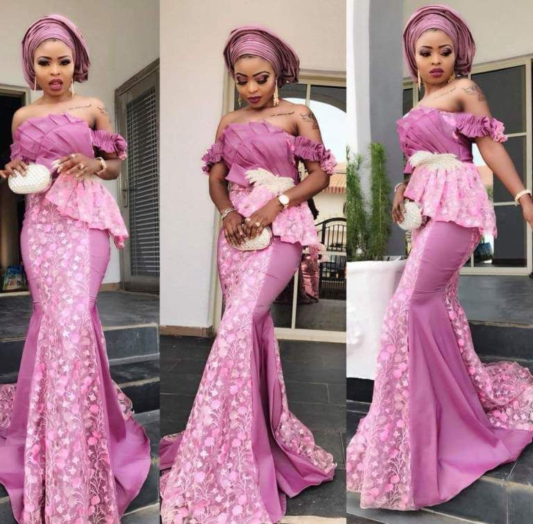 60 Trending Aso Ebi Styles We Saw This Weekend Wedding Digest Naija African Fashion African Fashion Dresses African Lace Dresses