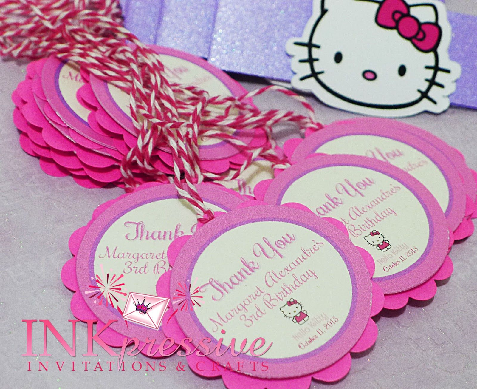 17 best images about hello kitty party ticket 17 best images about hello kitty party ticket invitation tent and bows