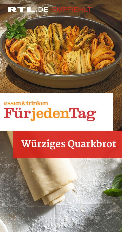 Würziges Quarkbrot