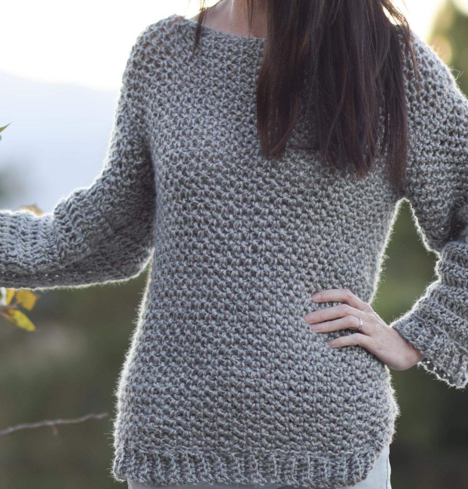 Free Crochet Patterns That Look Knit | Pinterest | Hacer ropa, Cosas ...