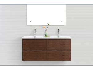 Double Vanity Bath Runner madero 1220mm double vanity walnut | bathroom | pinterest | corner