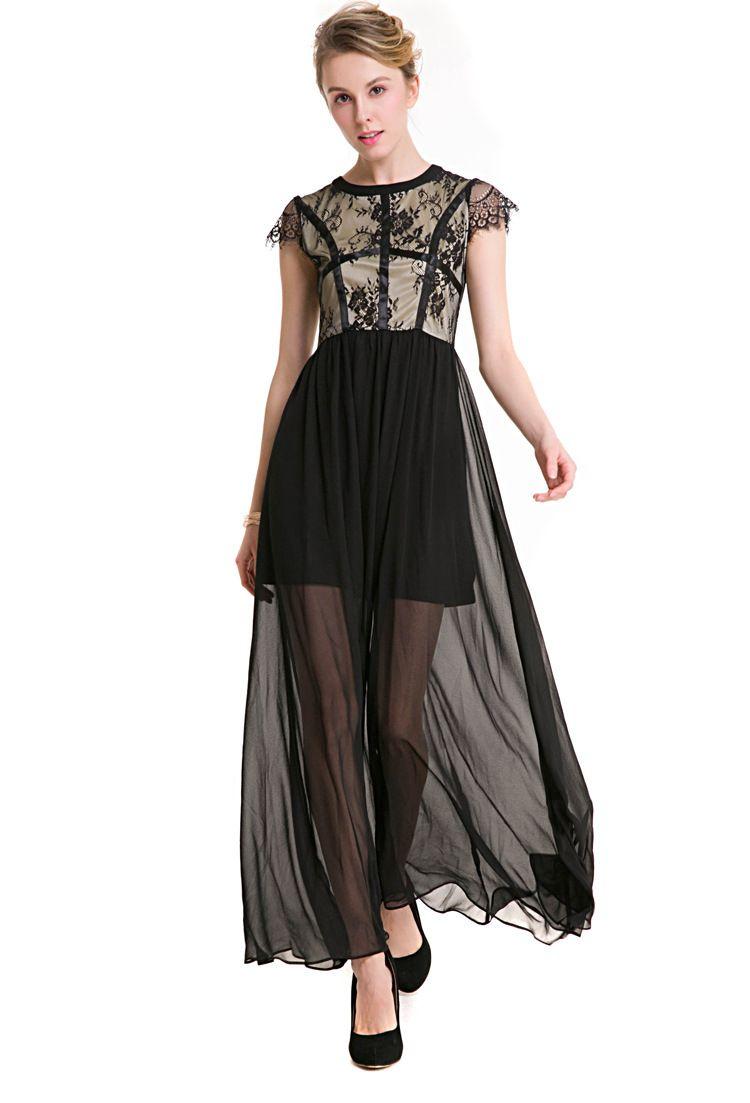 Sexy black maxi dress coctaildress maxi sexydress womenus