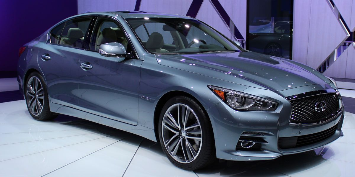 2014 INIFINITI Q50 replaces the former beauty the G37