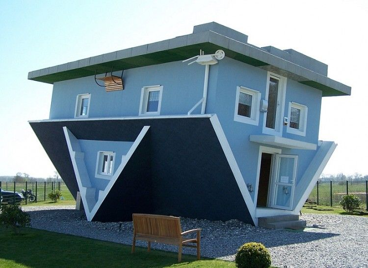 17 Most Unique Homes From Around The World - Swifty.com   Odd houses ...