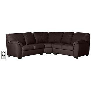 Fantastic Buy Milano Leather Dual Facing Corner Sofa Chocolate At Pdpeps Interior Chair Design Pdpepsorg