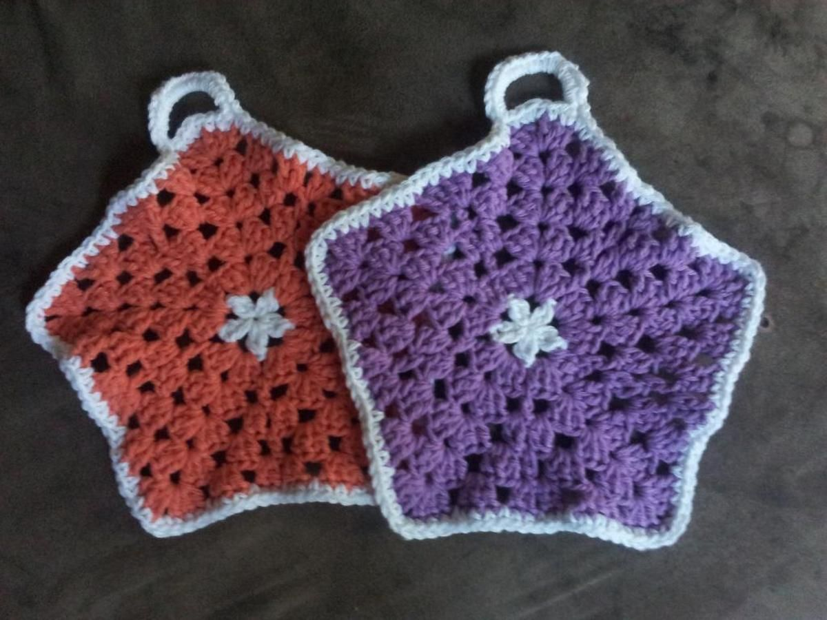 Star Hexagon Dishcloth | Craftsy | dish cloths | Pinterest ...