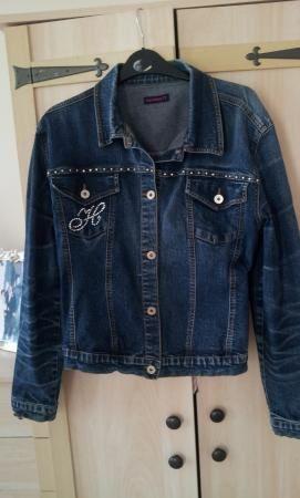 bffad3bae73 Hamnett Denim Jacket Size 16 Ladies