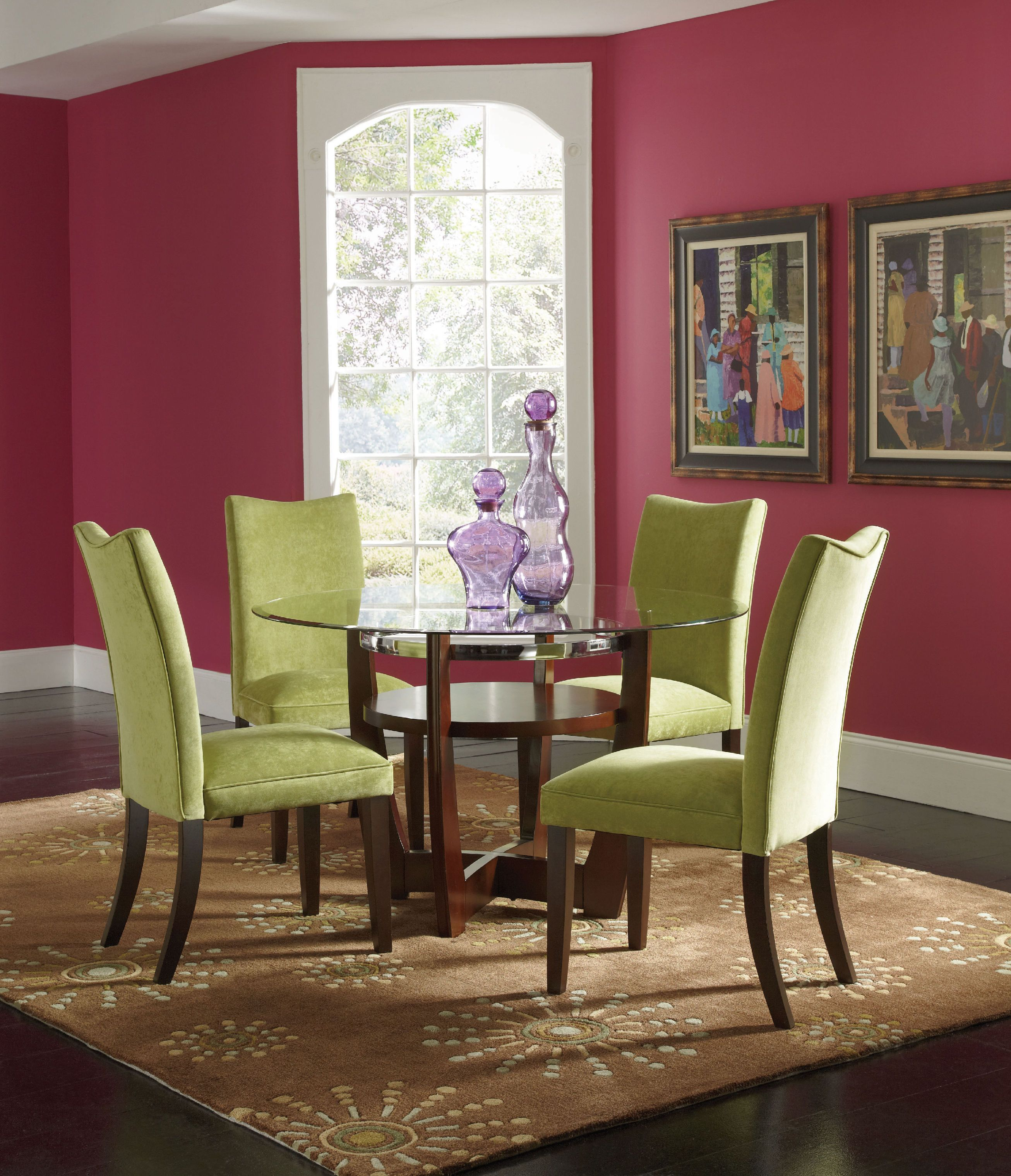 Charmant Standard Furniture Dining Room Chair Parsons Carton Green Velvet Home Chairs  Colorful