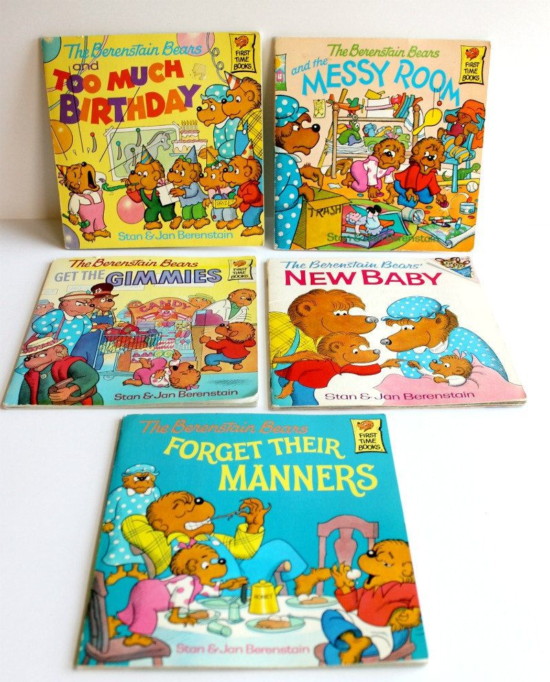 Pin By Melissa Girard On Why I Love The 80 S Berenstain Bears Childhood Memories Childhood Books