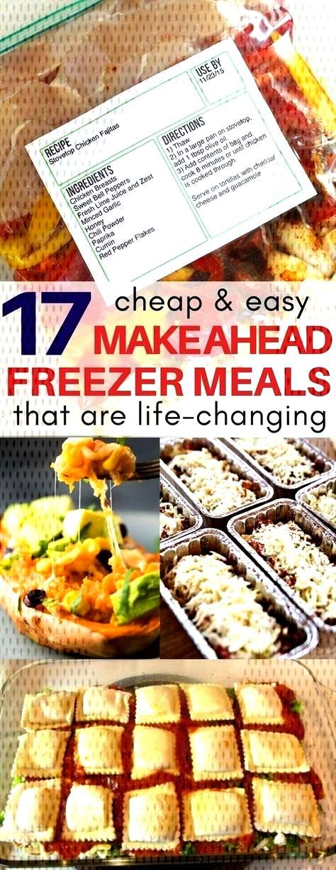 I am obsessed with the frozen chicken fajitas and lasagna roll make ahead freezer recipes! Plus a F