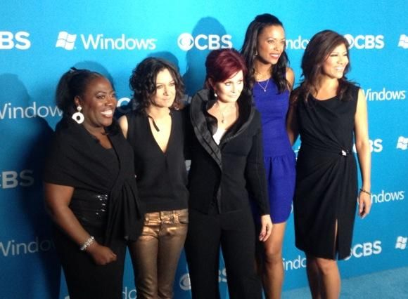 #TheTalk's @JulieChen @aishatyler @MrsSOsbourne @THEsaragilbert @sherylunderwood at @CBS Fall Premiere Party Red Carpet
