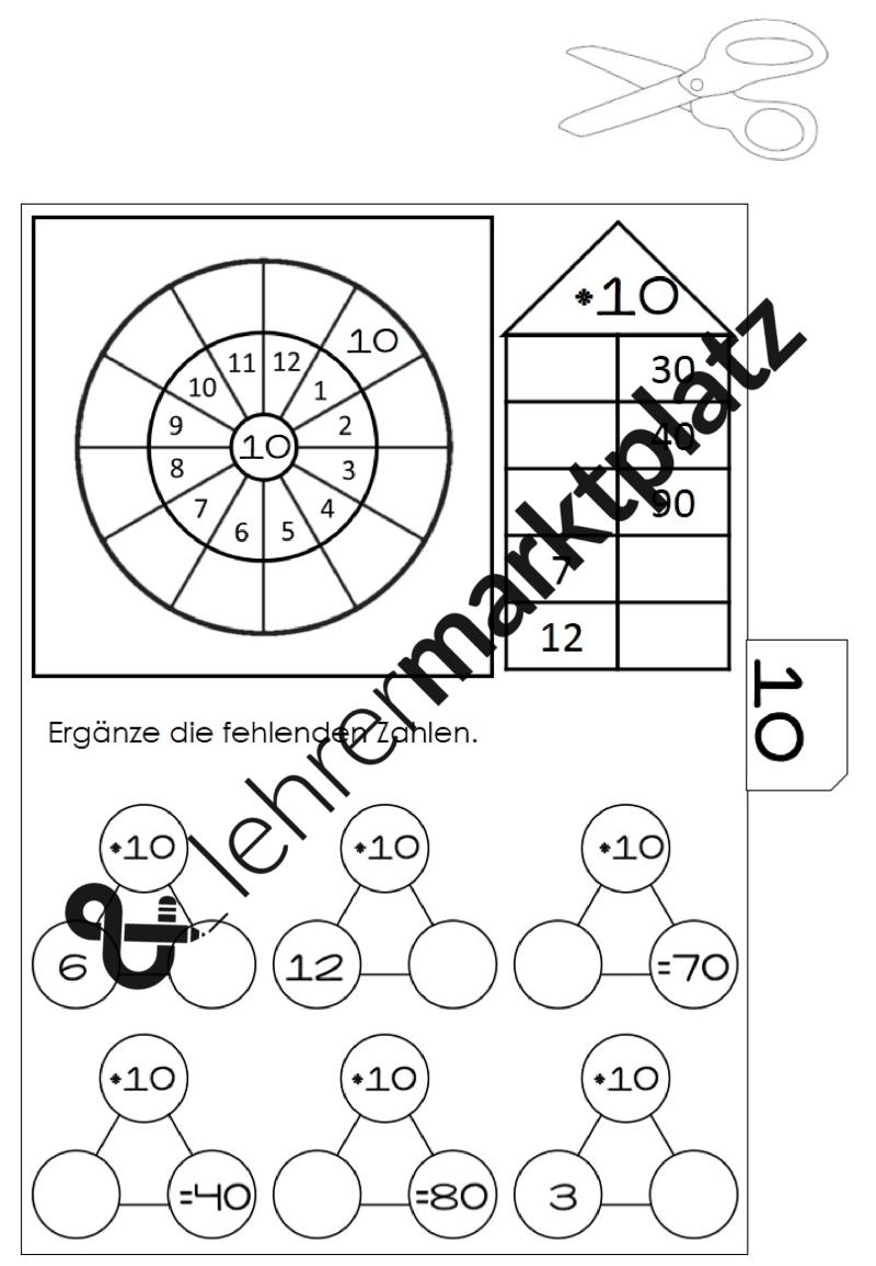 Mathe übungsheft 1x1 Kleines Einmaleins übungen Für Die Grundschule
