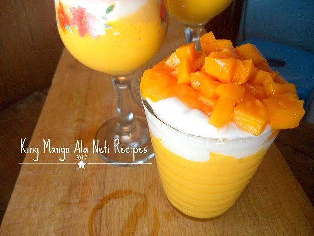 How To Make King Mango Thai Cara Membuat King Mango Thai Yang Kekinian Resep Makanan Makanan Dan Minuman Makanan