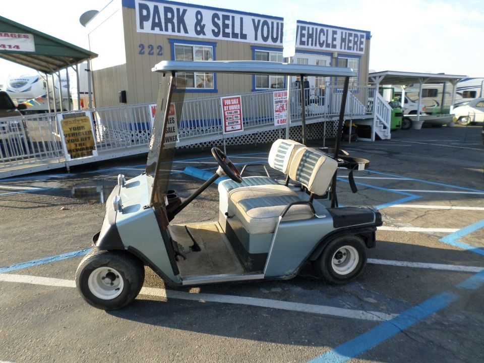 1985 EZ-GO Golf Cart | Used | Golf carts, Golf carts for