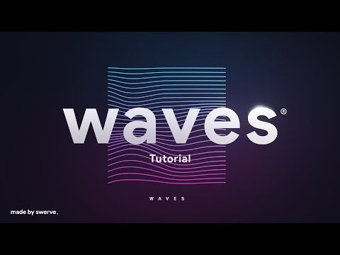 Line Art Effect Photoshop Tutorial : 17 photoshop & illustrator tutorial waves by swerve® youtube