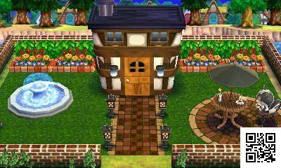 Silhouette hotel-like quality space. Only hotel-ish feel. Tsukutta: 0009-7722-000 # Happy Home # ACHappyHome # 3DS