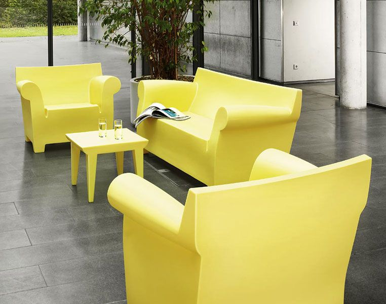 Kartell Poltrona Bubble Club.Bubble Club By Philippe Starck Contemporary Outdoor