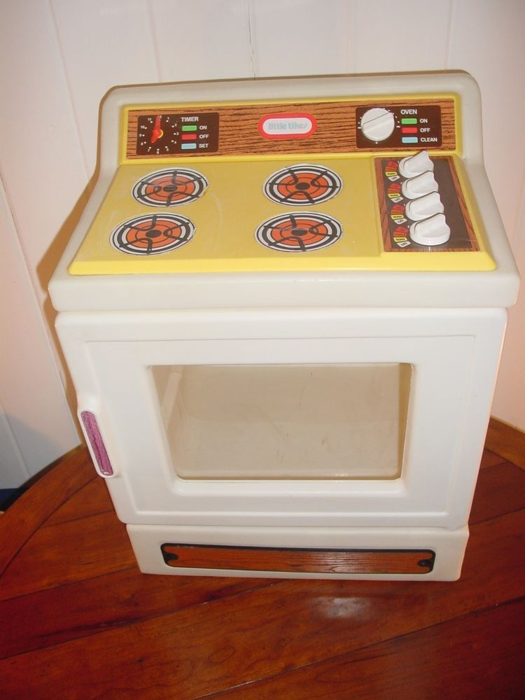 Vintage Little Tikes Child Size Play Kitchen Stove | Kids ...