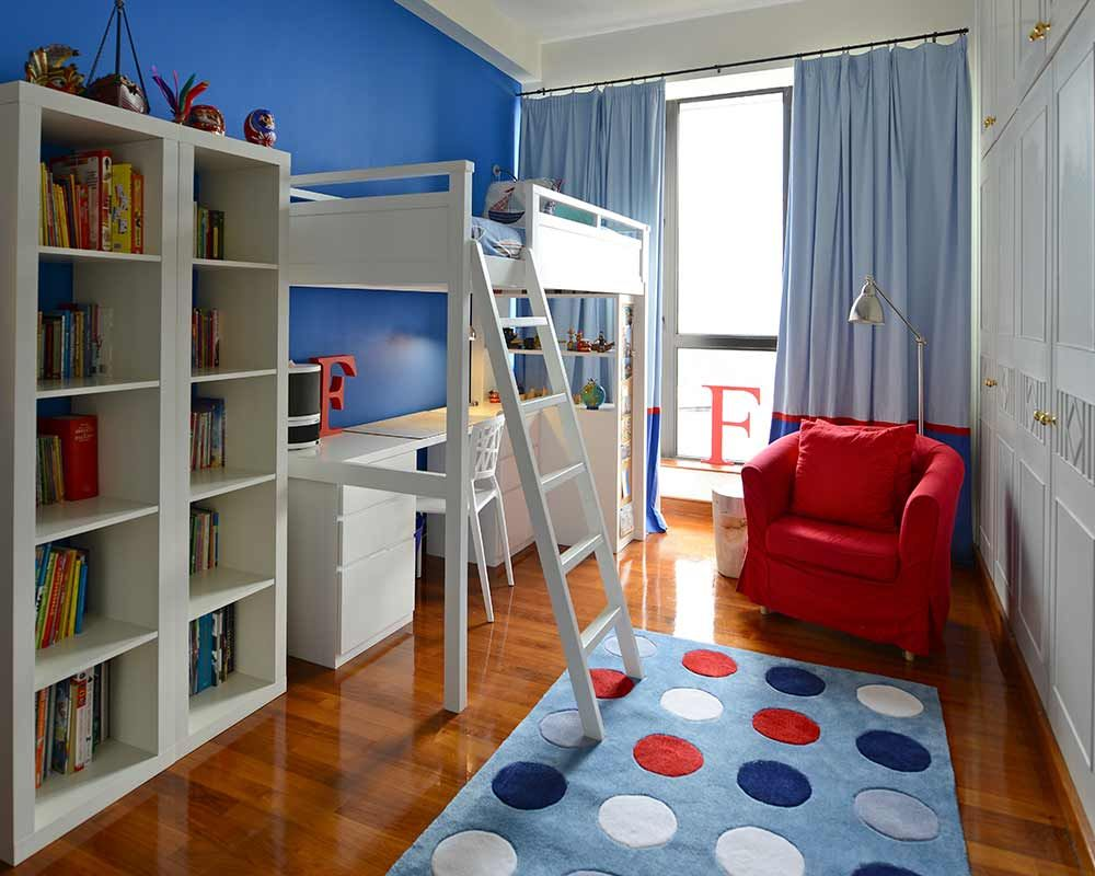 remarkable boys bedroom ideas loft bed | love the streamline room- looks like Ikea...boys theme ...