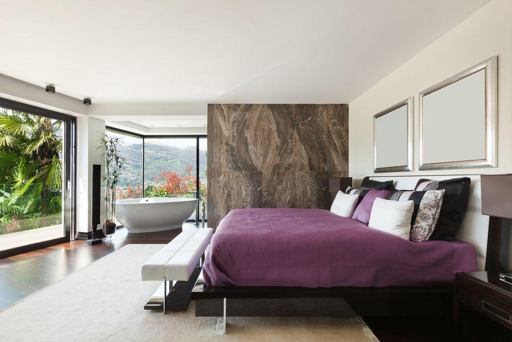 badewanne im schlafzimmer wohnen einrichten. Black Bedroom Furniture Sets. Home Design Ideas