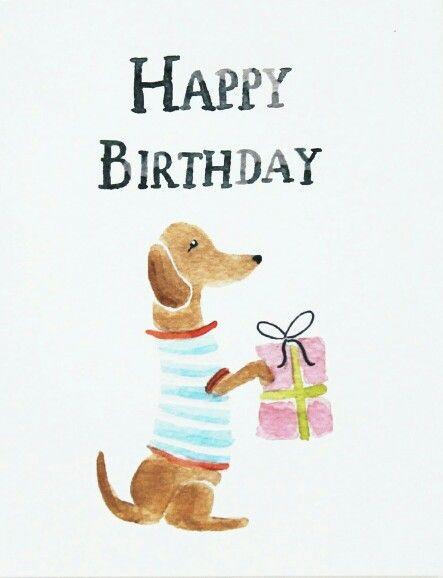 Birthday Bob The Dachshund Happy Birthday Dachshund