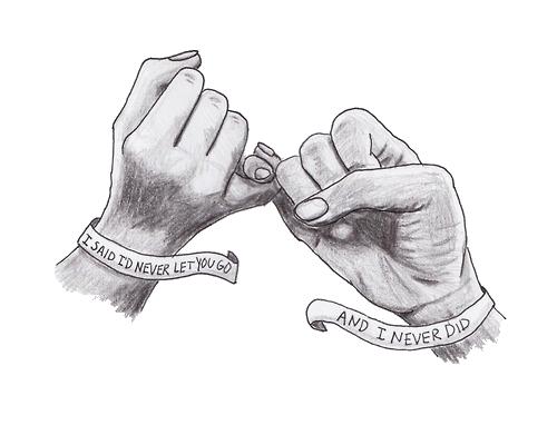 Mikeoakheart Via Tumblr Drawings For Boyfriend Drawings Of Friends Best Friend Drawings