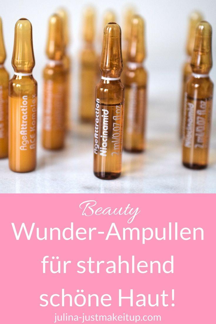 Das Beauty Wunder Aus Der Ampulle Age Attraction Just Make It Up By Julia Haut Hautpflege Trockene Haut