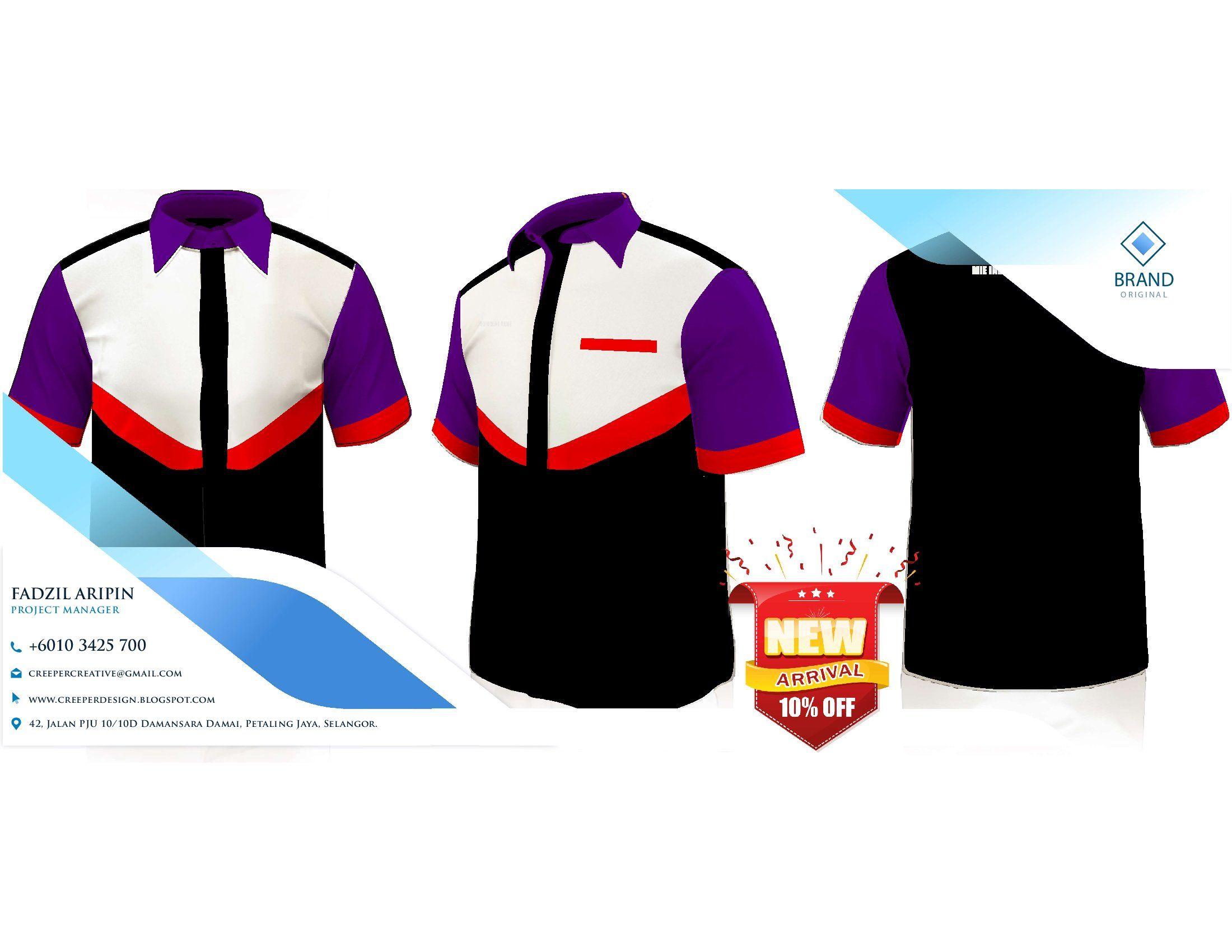 Baju Kerja Lapangan Terbaru