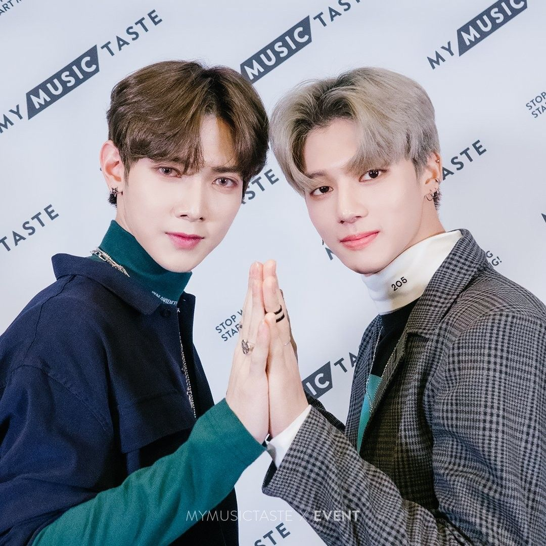 Yeosang & Wooyoung - ATEEZ MyMusicTaste