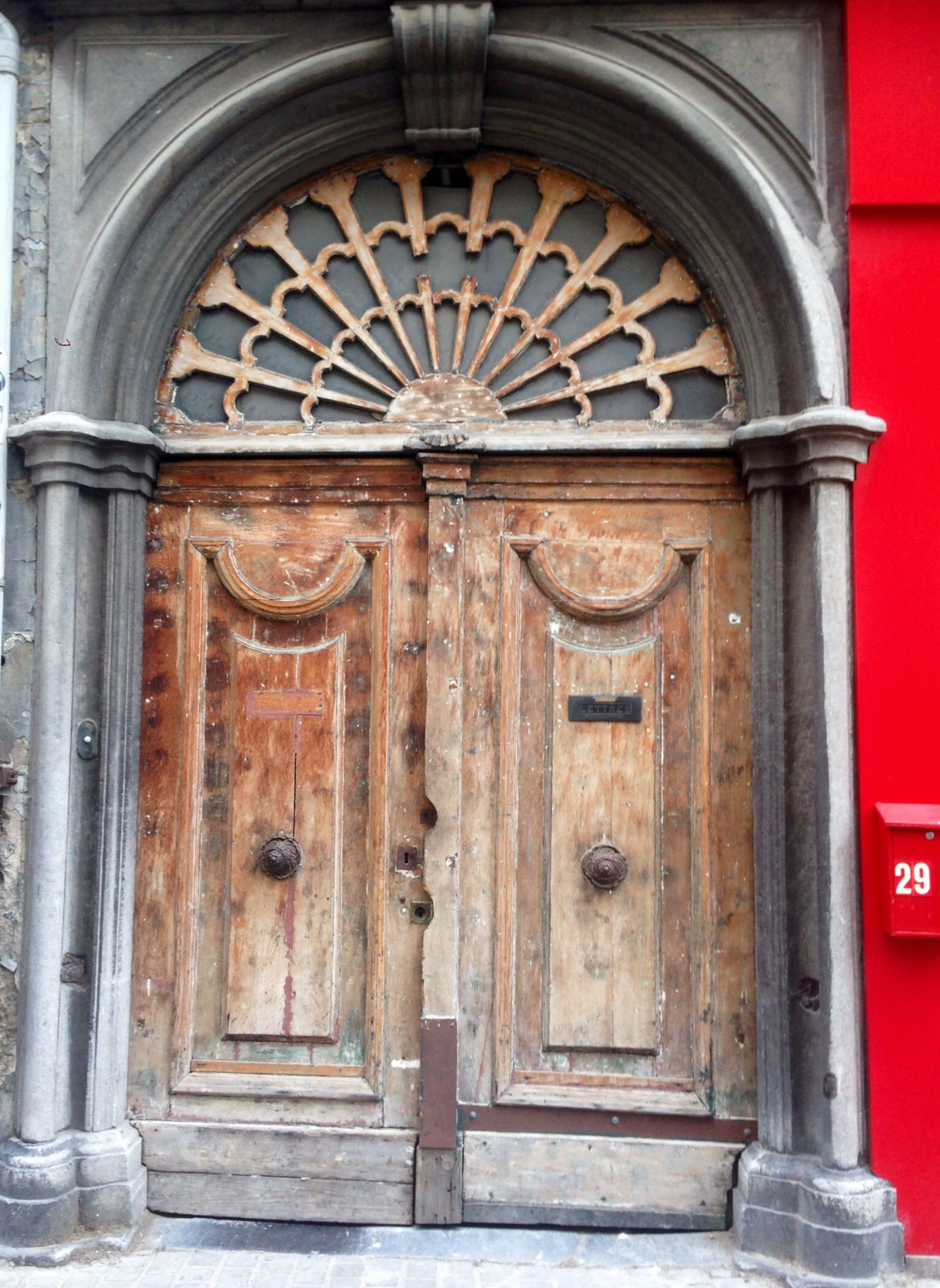 Antwerp, Belgium - July 4, 2014 *Korte Gasthuisstraat