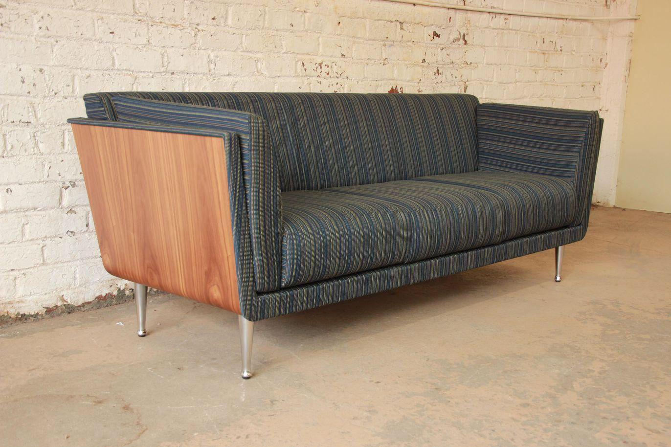 Mid Century Herman Miller Goetz Sofa On