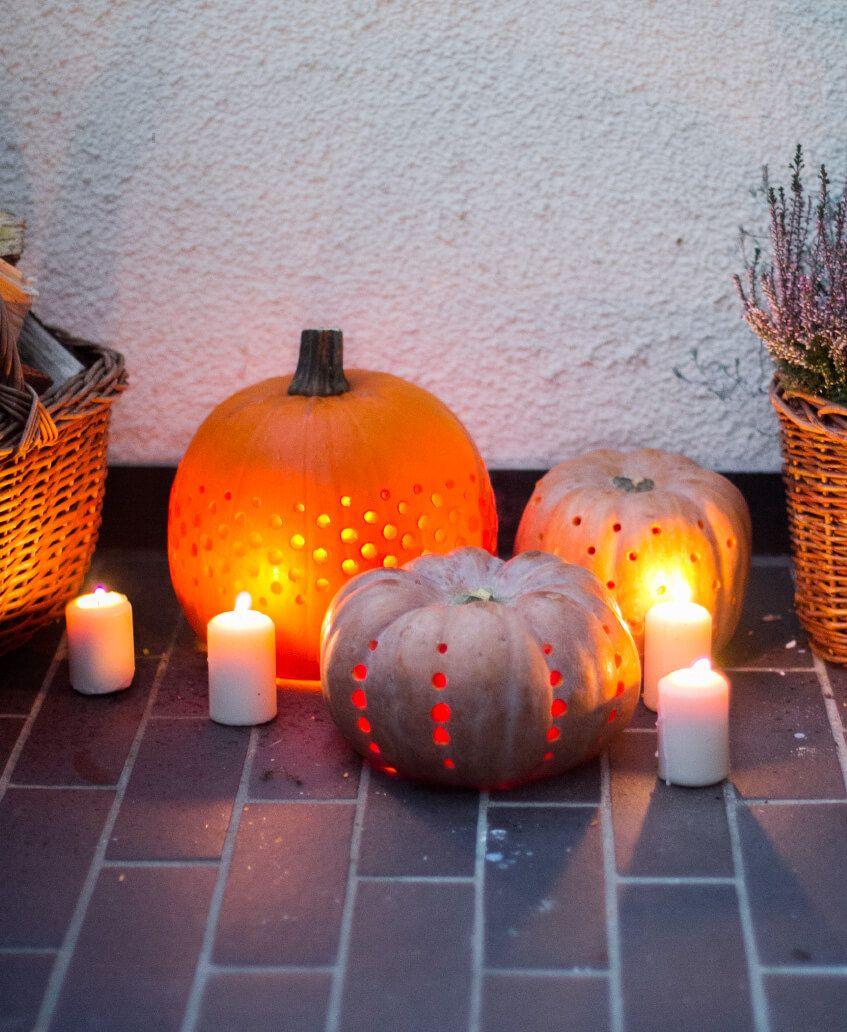 k rbis laternen herbst pinterest k rbisse halloween. Black Bedroom Furniture Sets. Home Design Ideas