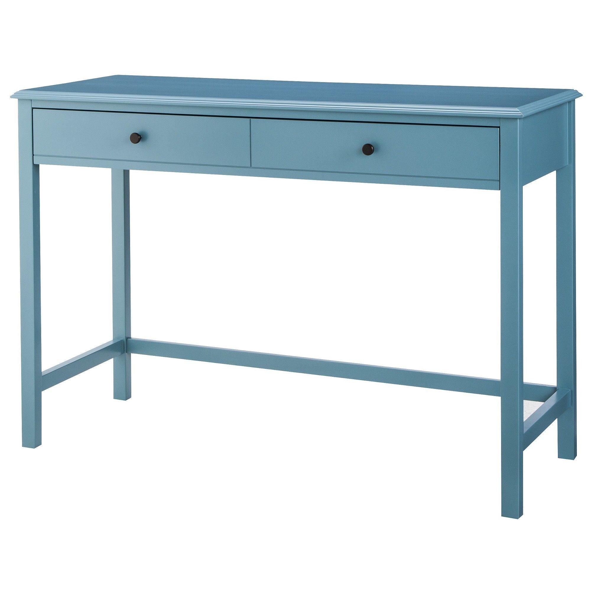 Windham Desk Threshold , Blue Desk, White desk office