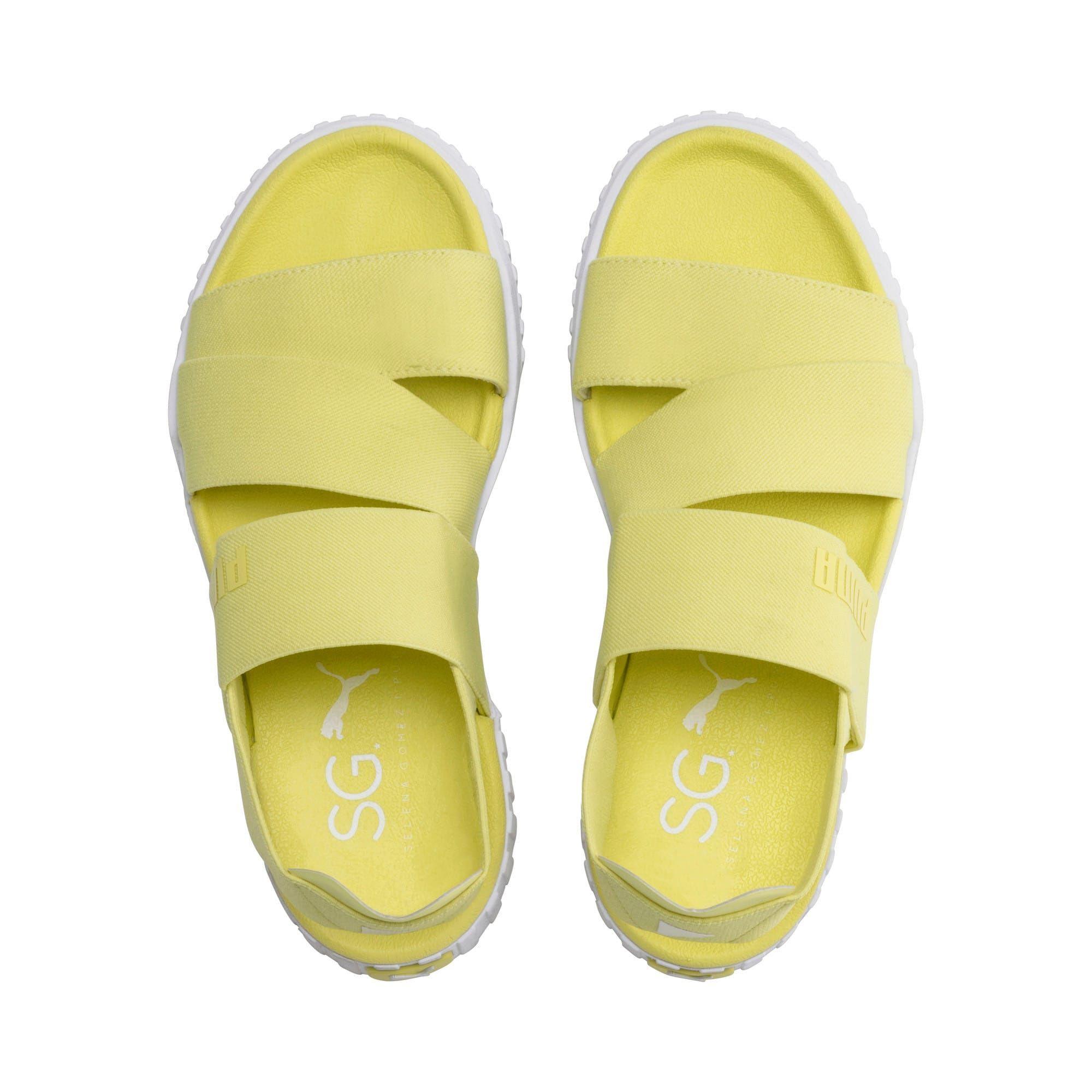 puma cali jaune femme