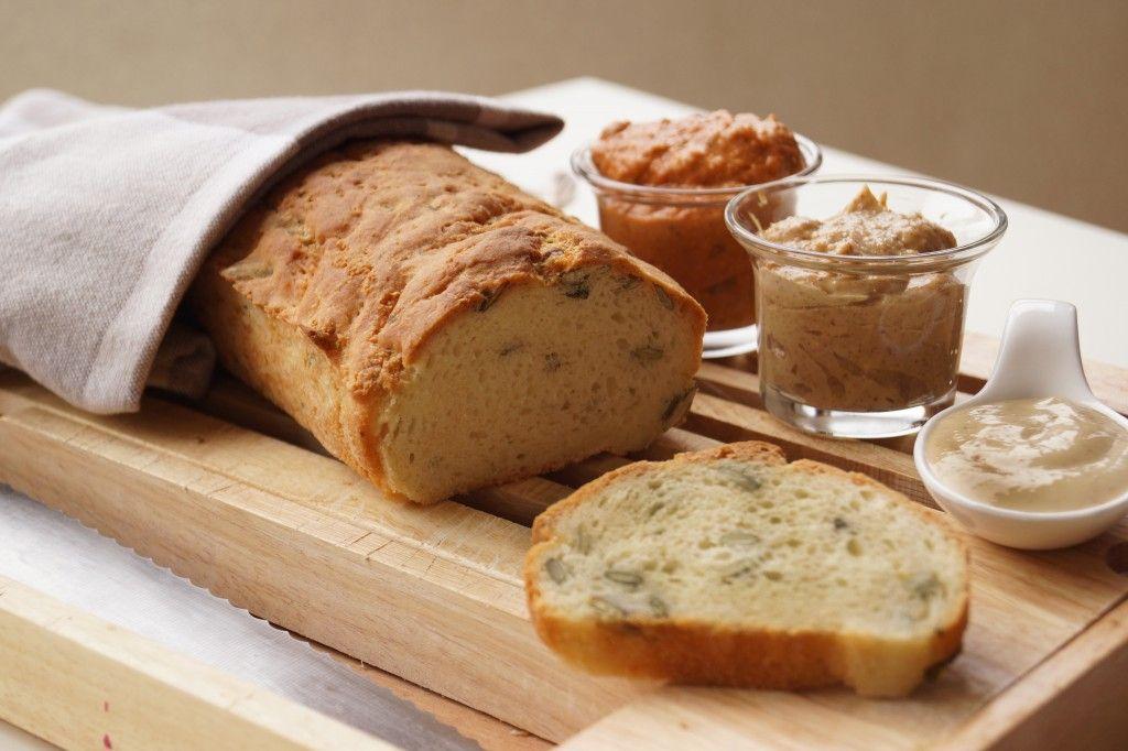 Getestet: Glutenfreie Backmischung von Schär – Weißbrot mit Kürbiskernen -