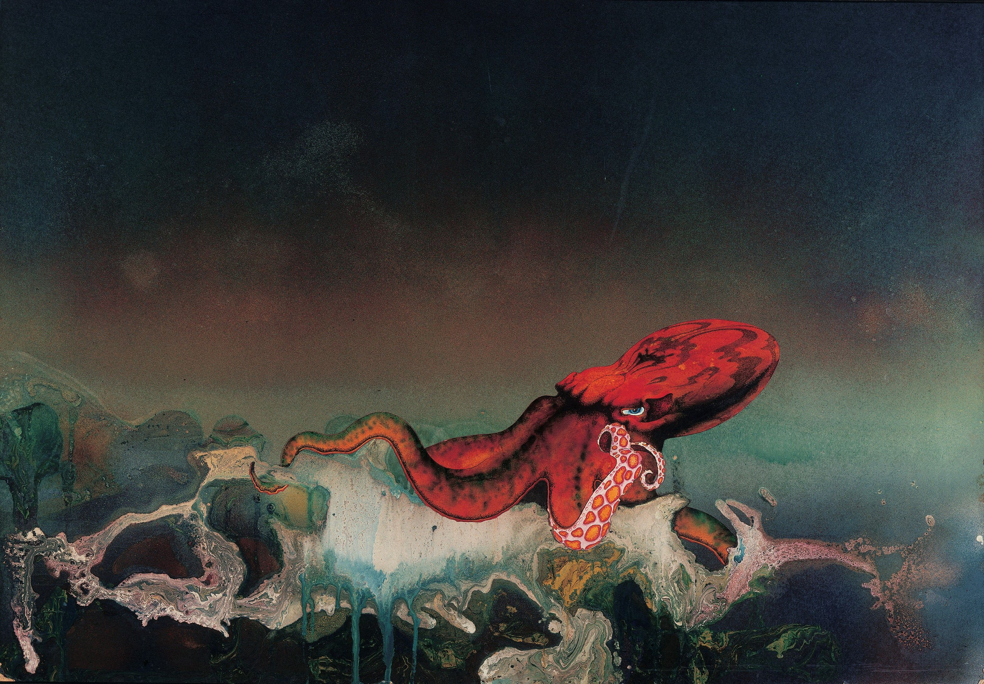 The Weird Worlds Of Roger Dean Prog Rock S Artist In Residence Ilustraciones Arte Fantastico Artistas