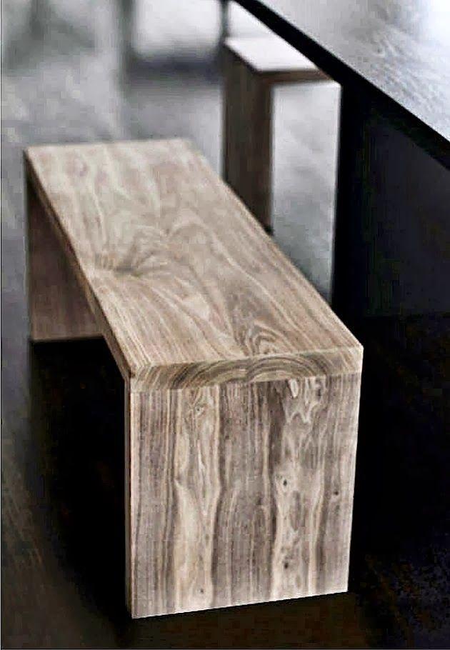 Banqueta rustica madera (100x45x60): una para poner en pasillo ...