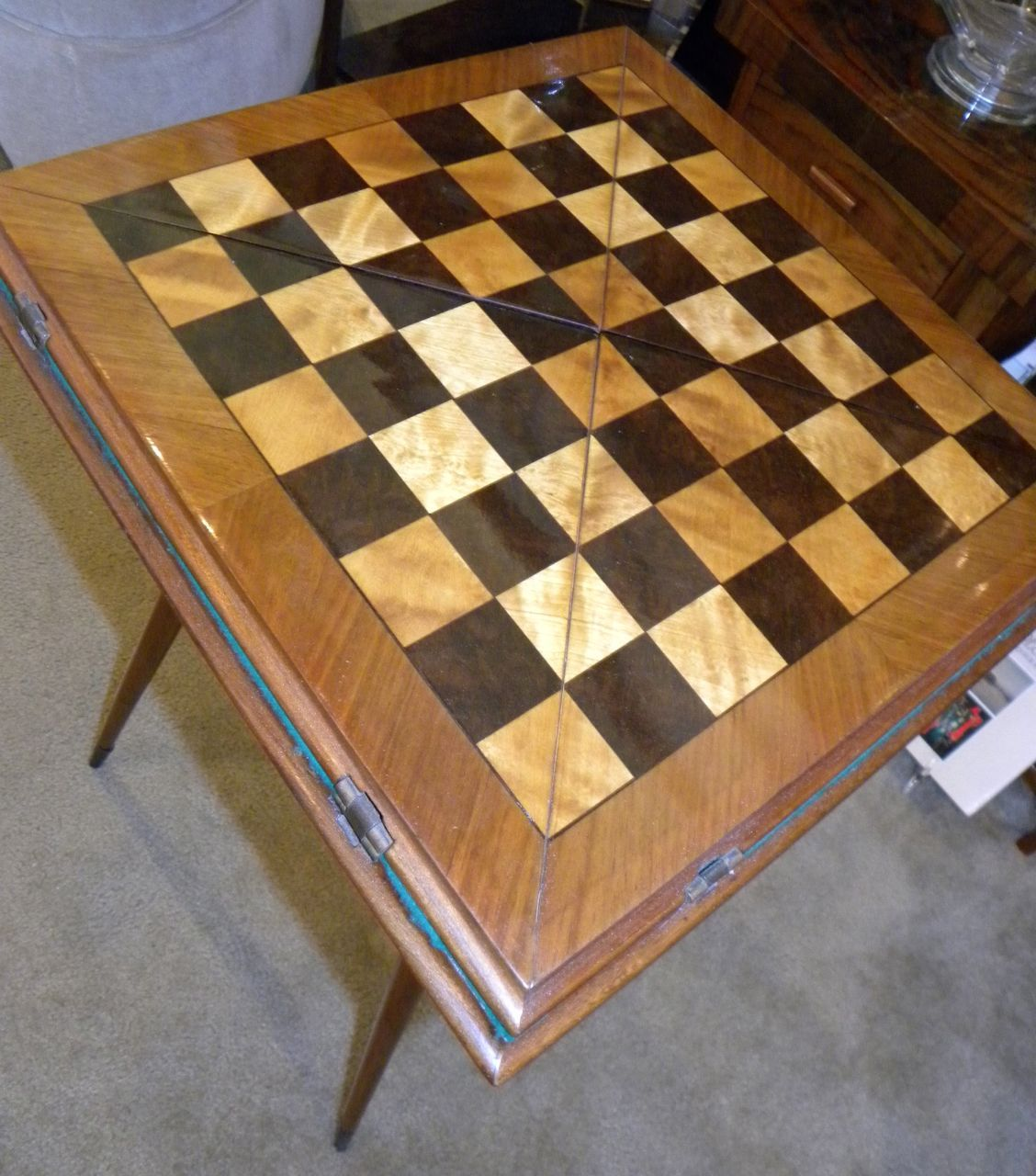 Fabulous Art Deco Game and Card Table Bars Art Deco