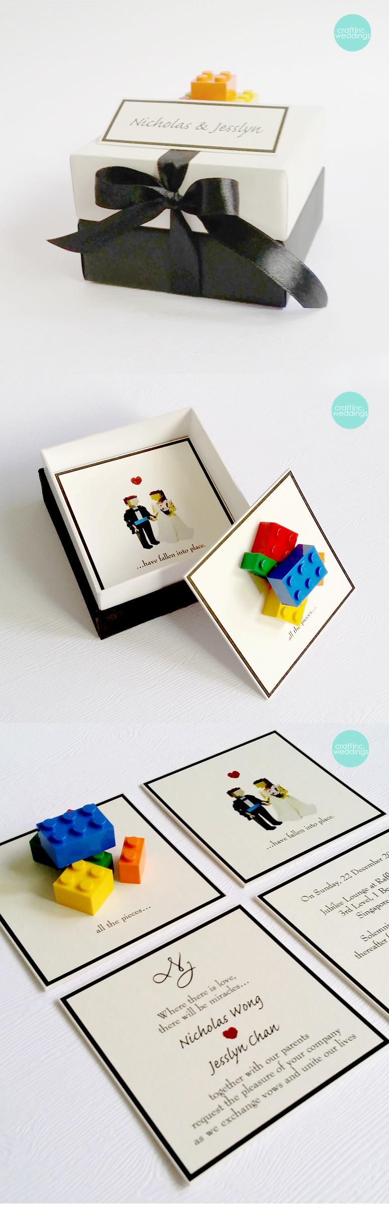 invites - lego! \'nuff said. | Ideas for the big day | Pinterest ...