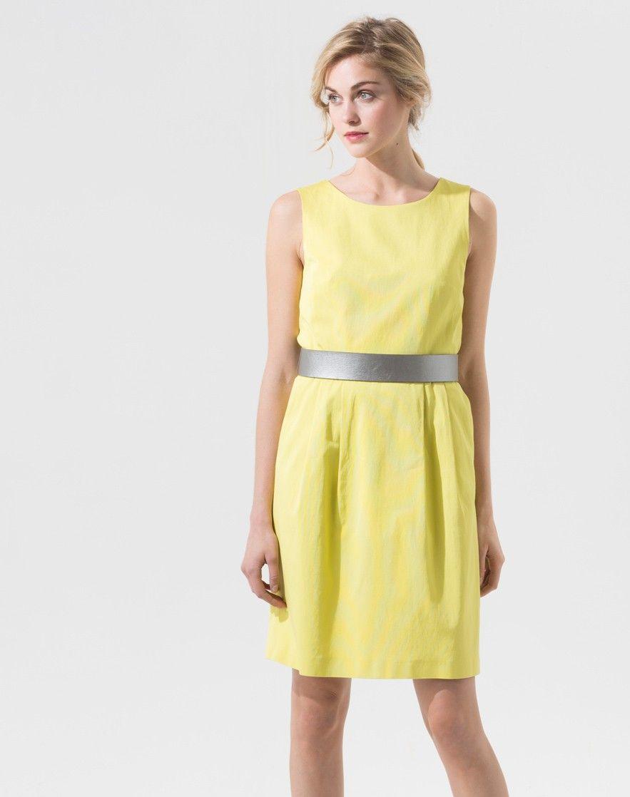 Robe jaune 1 2 3