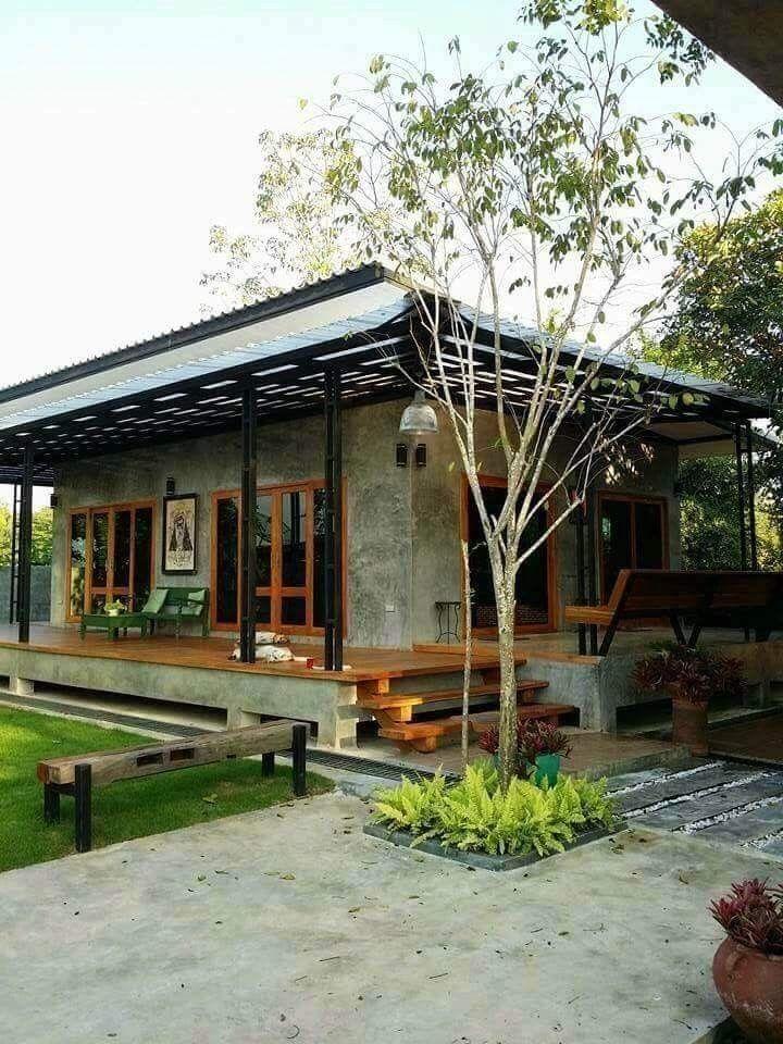 Fachadas dream house pinterest casas casas r sticas for Casas campestres rusticas
