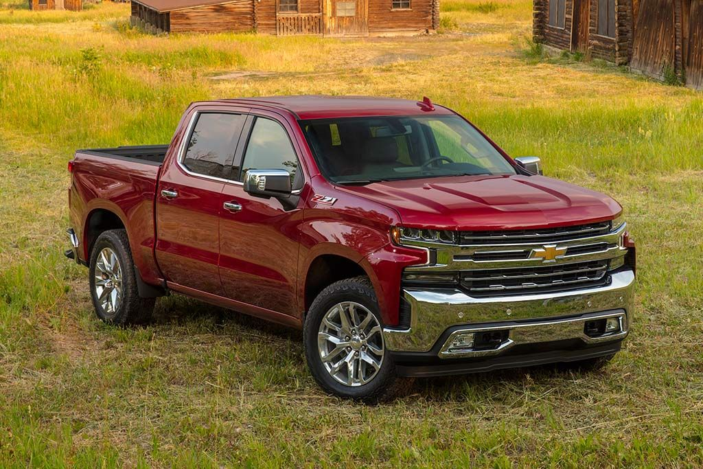 2019 Chevrolet Silverado First Drive Review Chevrolet Pickup